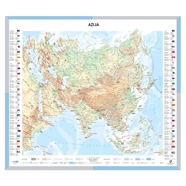 Globusi In Solski Stenski Zemljevidi